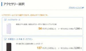 BIGLOBEモバイル新規契約申し込み9